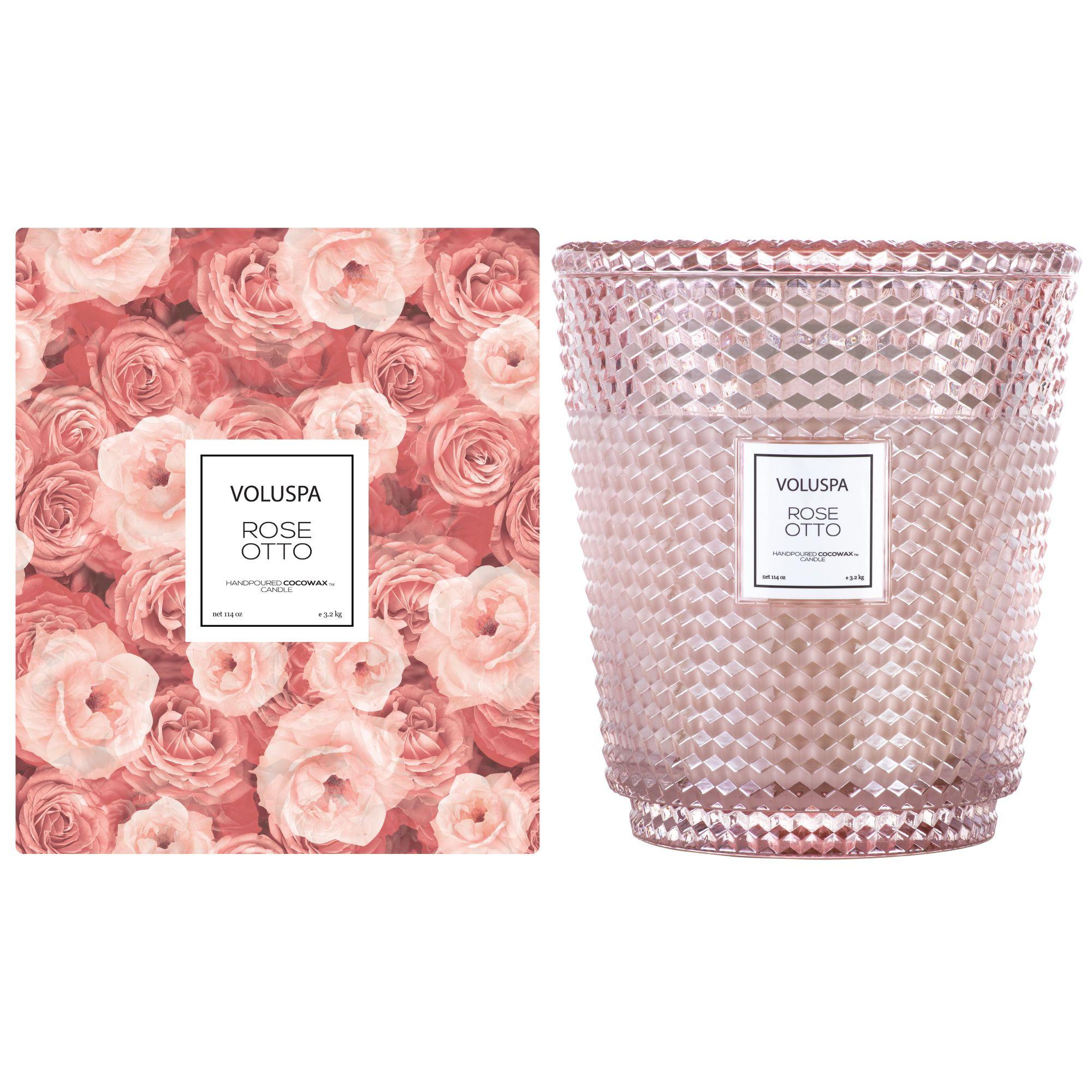 Voluspa Classic Glass Candle: Rose Otto