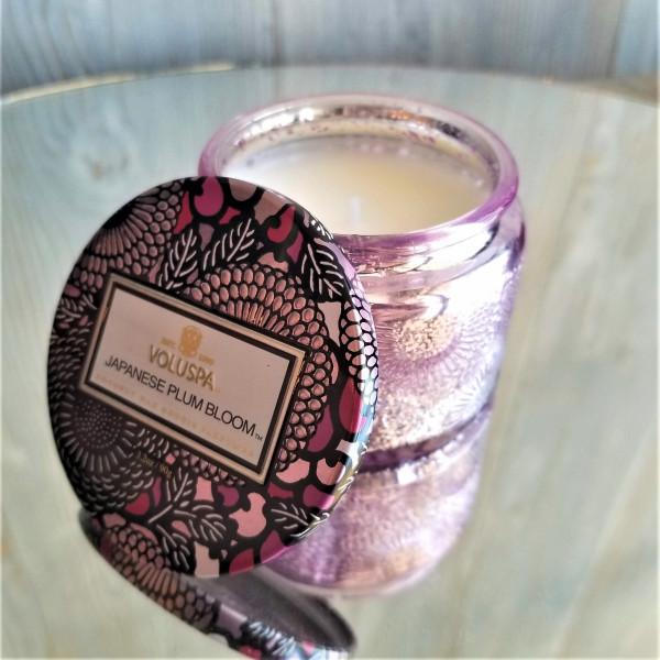 Voluspa Small Jar Candle: Japanese Plum Bloom