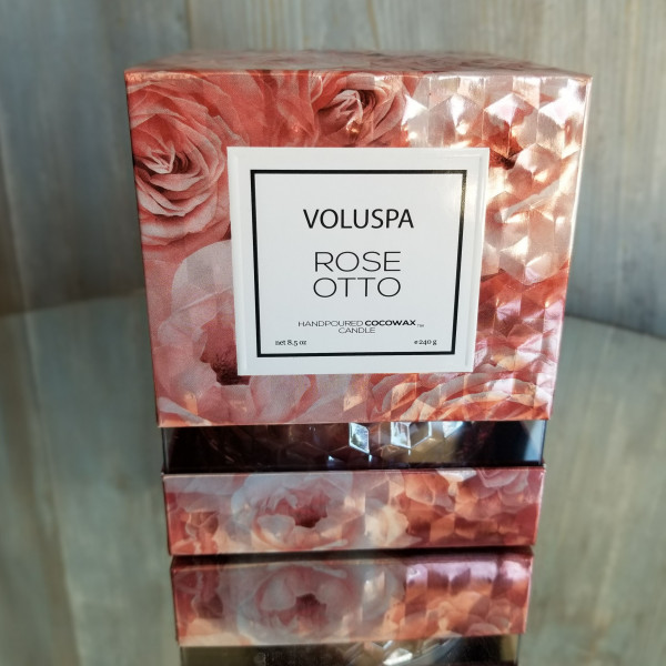 Voluspa Rose Otto Large Candle
