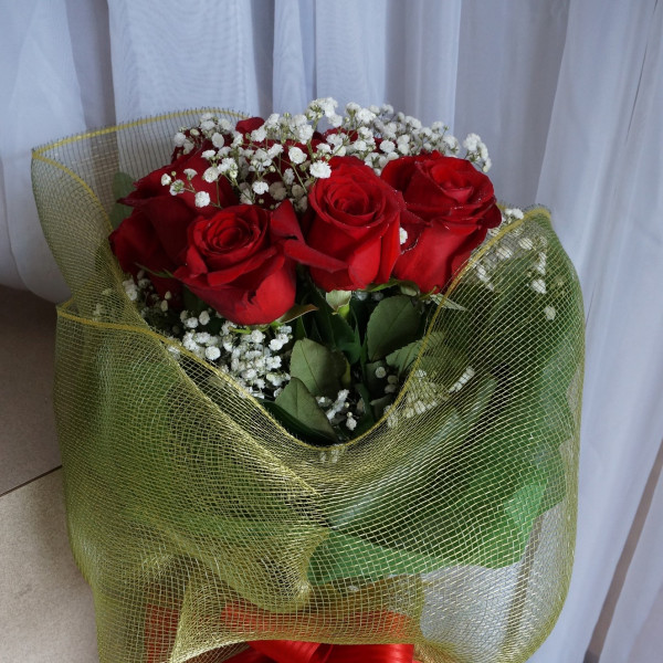 Bundle of Love Wrapped Bouquet