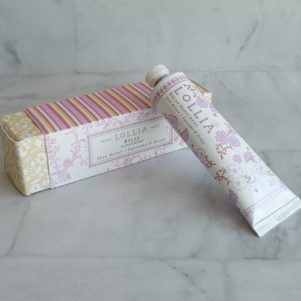 Lavender and Honey Lollia Handcreme