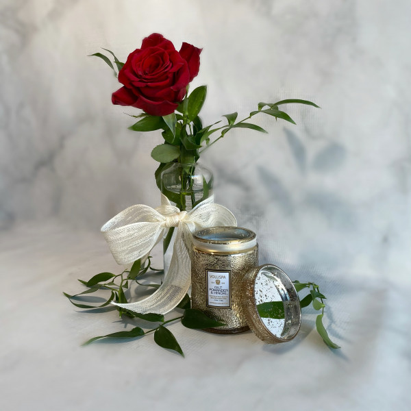 Holiday Rose Gift