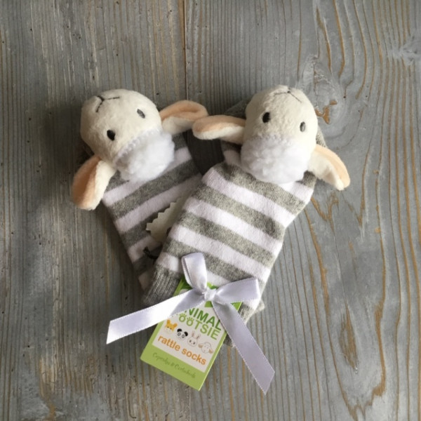 Sheep Baby Socks