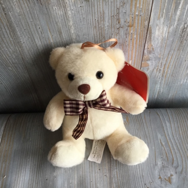 Small White Bear Plush