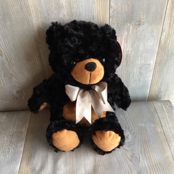 Large Black Bear Plush
