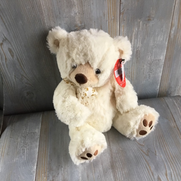 Large White Bear Plush