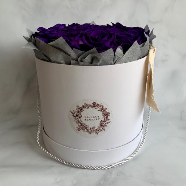 Permanent Rose Box - Black