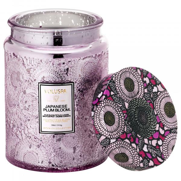 Voluspa Japanese Plum Bloom Large Jar Candle