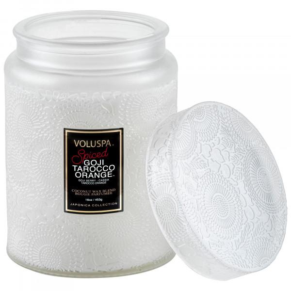 Voluspa Spiced Goji Torocco Orange Small Jar