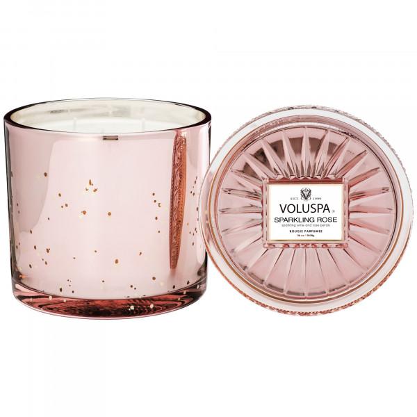 Voluspa Sparkling Rose Grande Candle