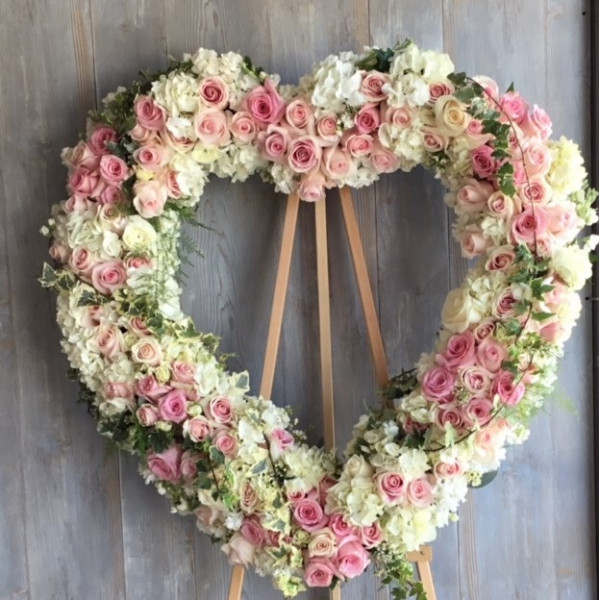 Forever Love Heart Wreath