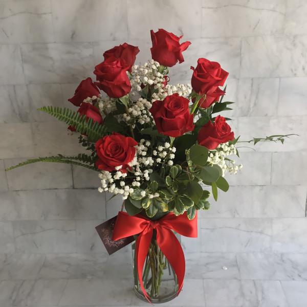 Long Stem Roses Dozen
