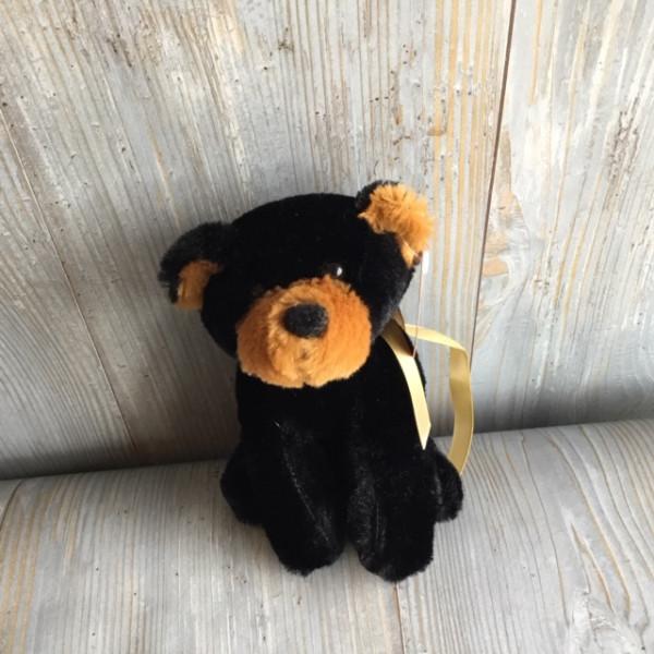 Small Black Bear Plush