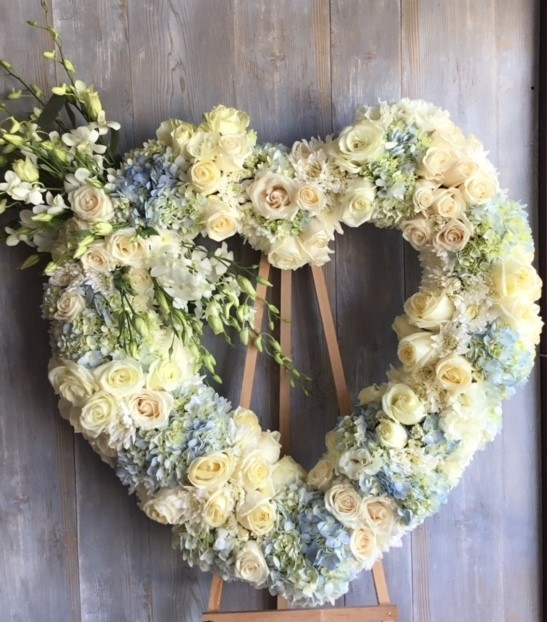 Sweet Memory Heart Wreath
